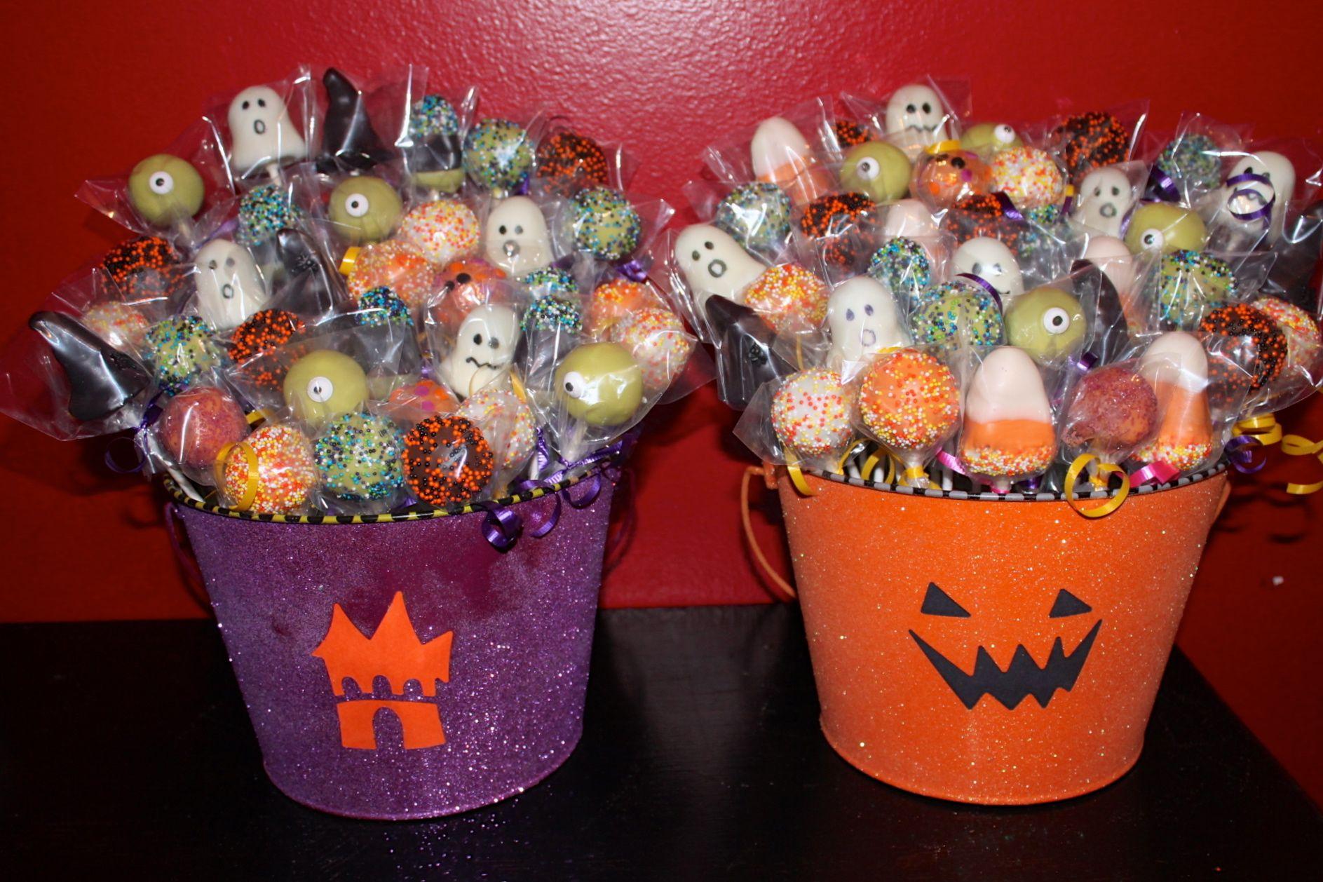 Halloween Cake Pops | Cakes | Pinterest