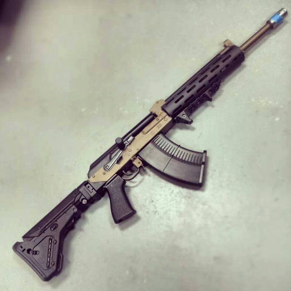 Tactical ak 47 zombie apocalypse survival kit pinterest