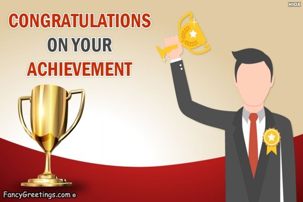 Say Congratulations To Your Friend On Their Success And Achievement Encourage Them Through