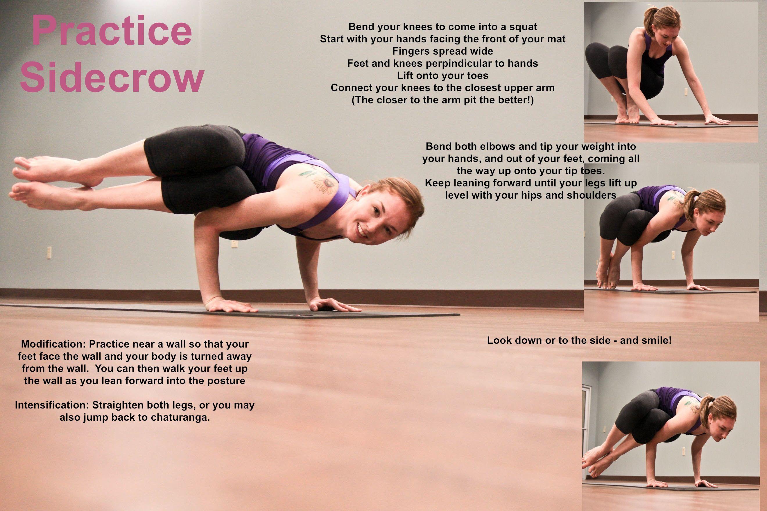 Side crow yoga - photo#5