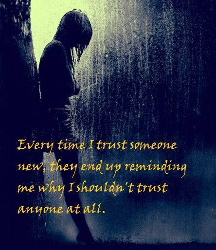 Broken trust Broken.. Pinterest