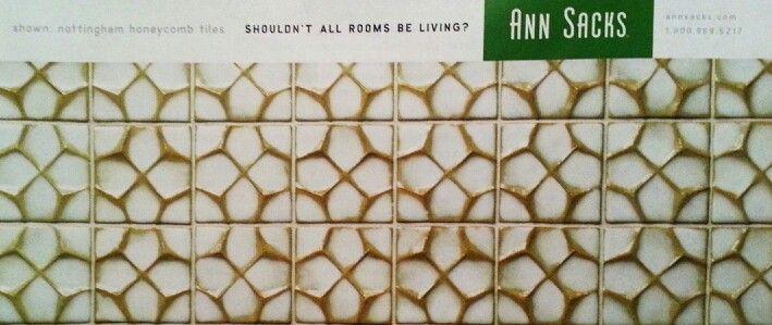 gold honeycomb tiles kitchen backsplash pinterest