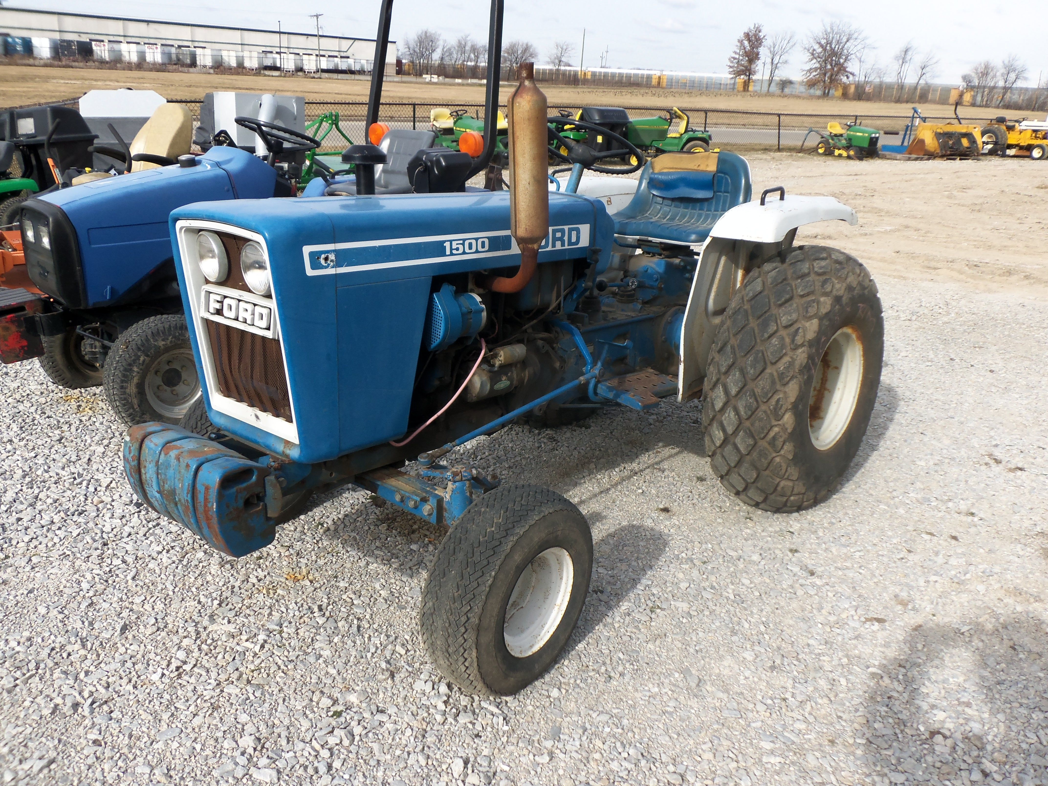 1500 Tractor Parts : Ford compact diesel tractor tractors pinterest