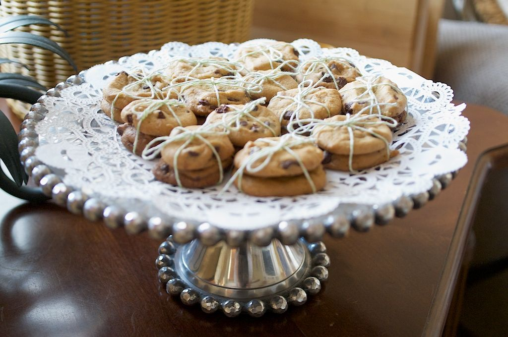 cookie trays for weddings
