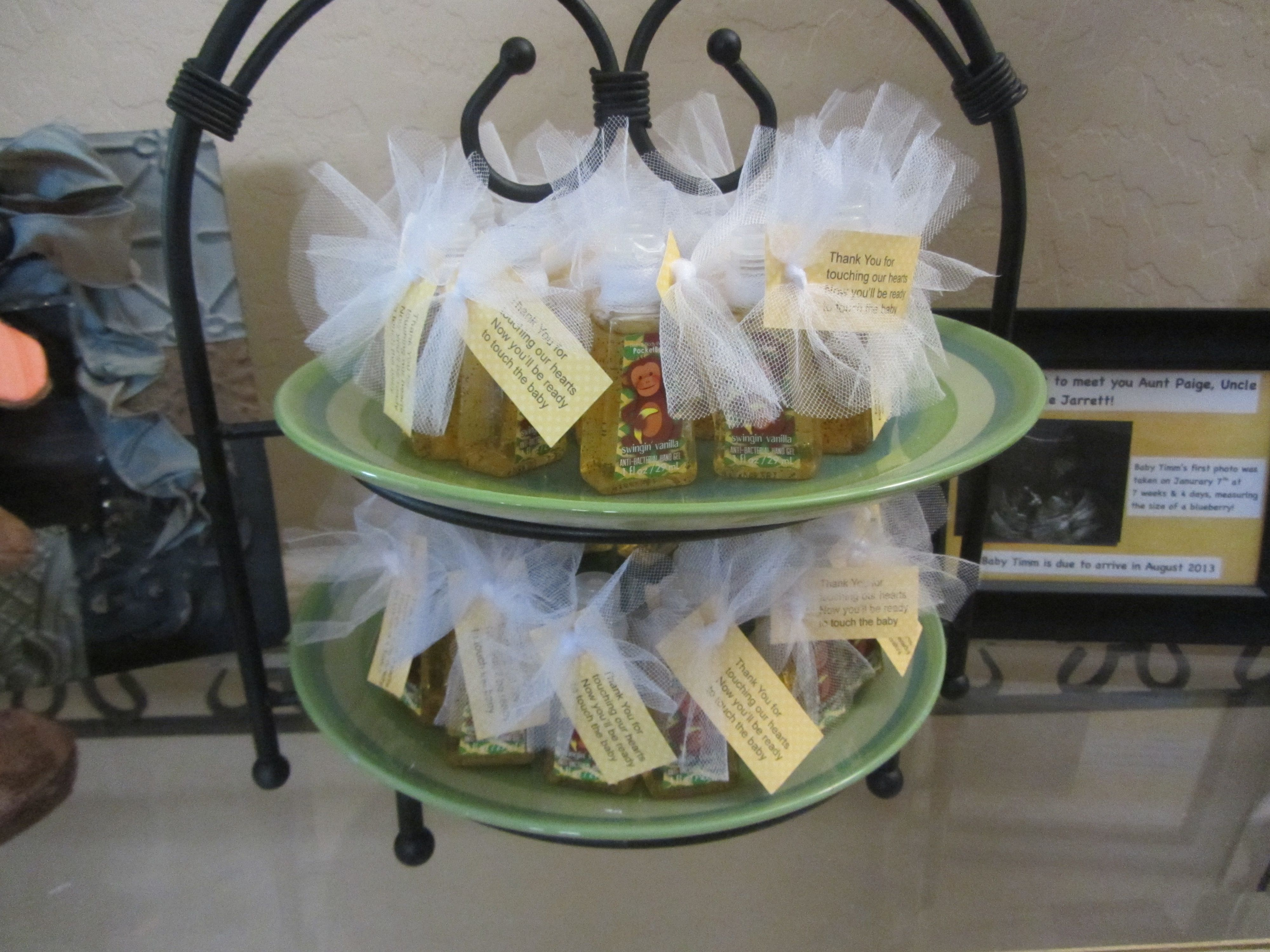 party favors hand sanitizers baby shower pinterest