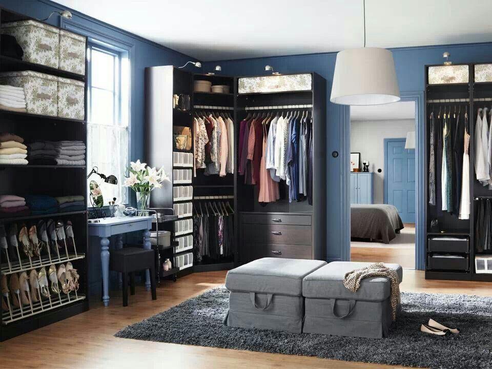Ikea walk in closet ideas d coration pinterest - Ikea walk in closet design ...