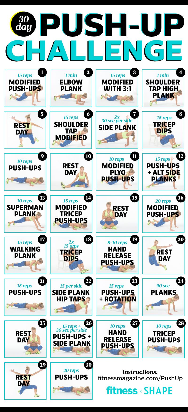 One Day Push-Up Challenge