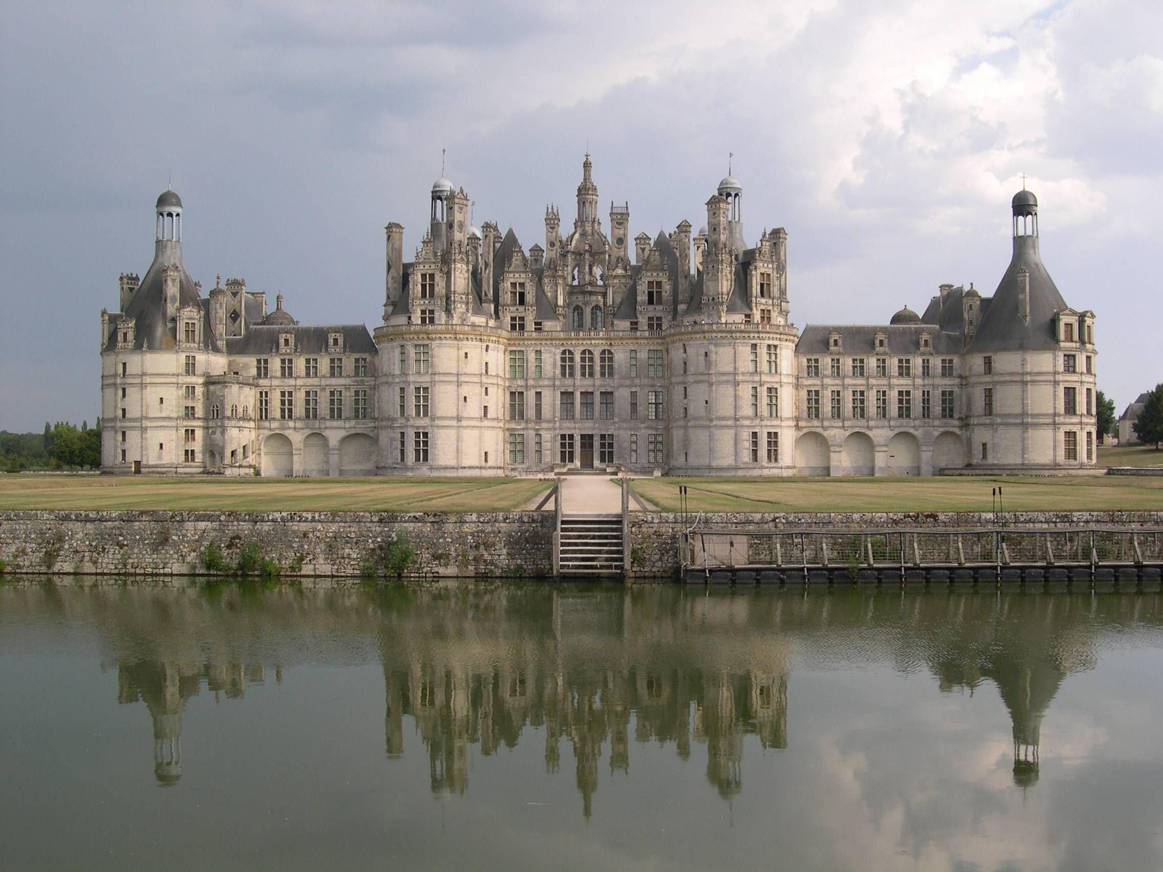 Chateau De Chambord France Castles Pinterest