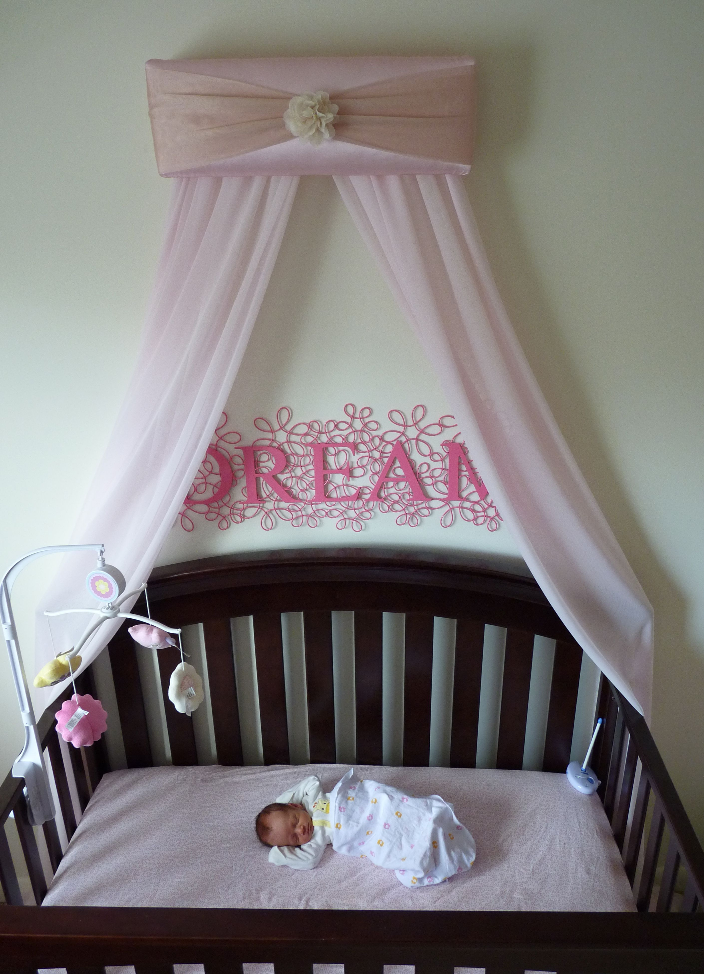 Share for Diy baby crib canopy