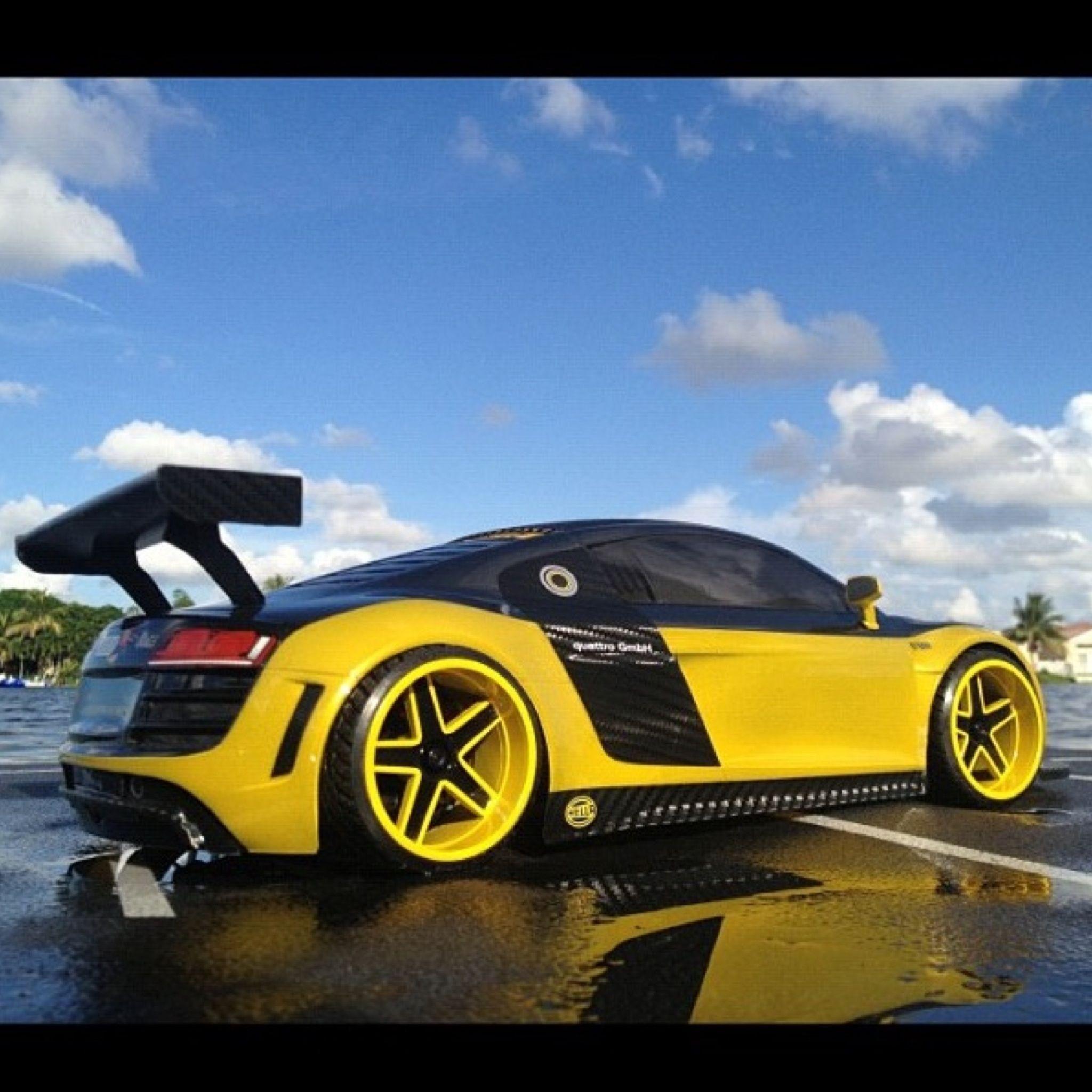 Audi R8: Pimped Out Audi R8.