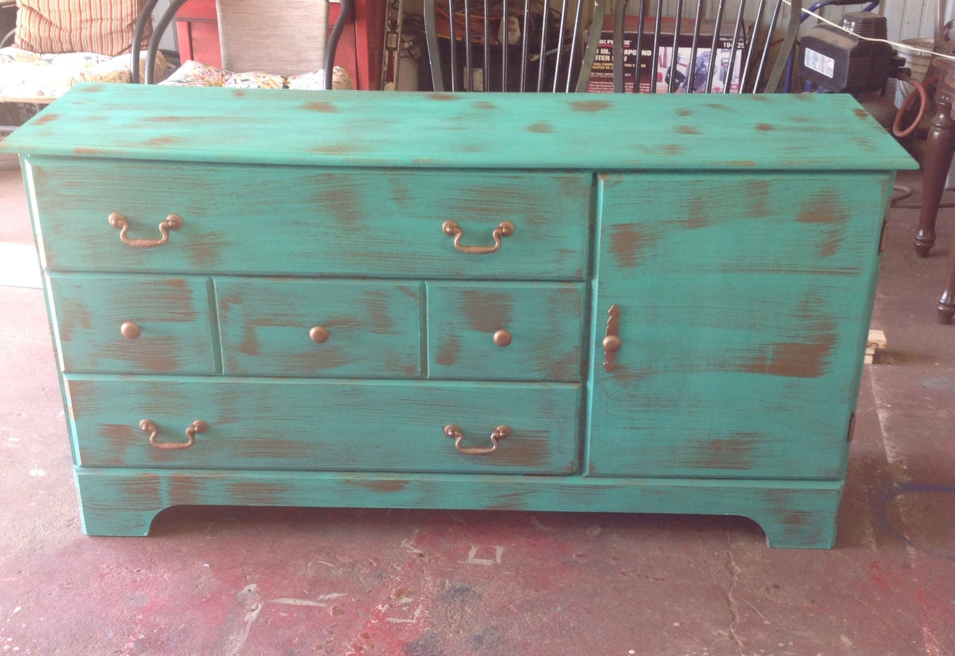 Tv stand chalk painted furniture pinterest for Pinterest painted furniture