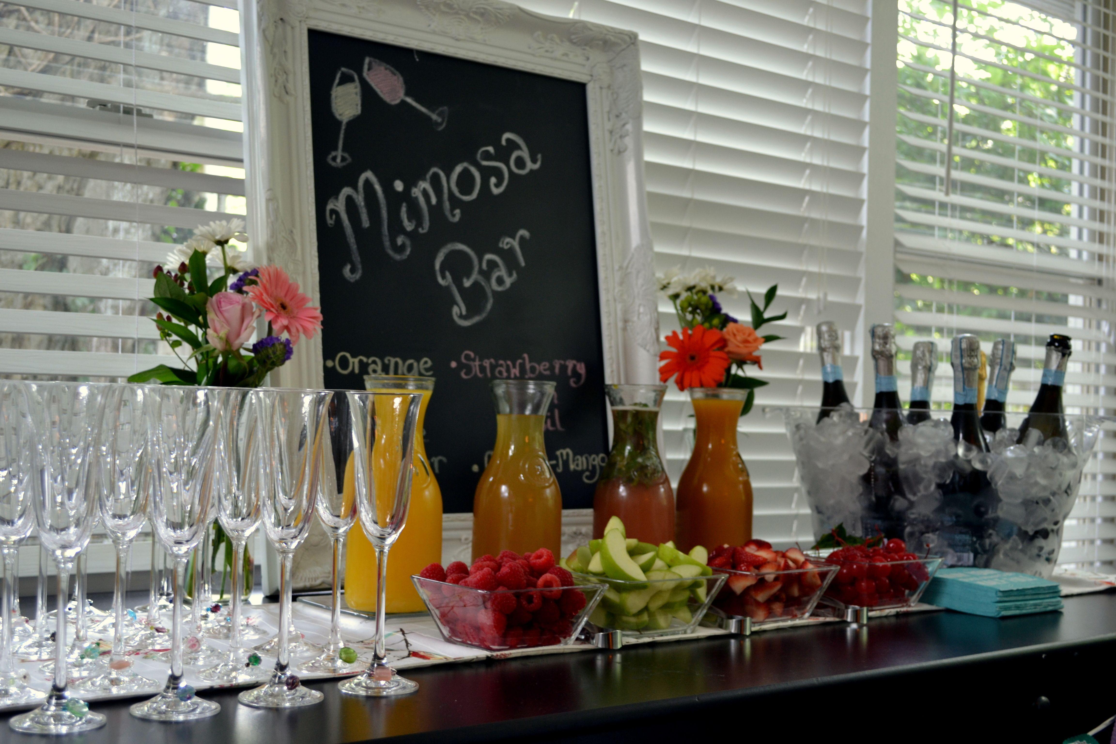 Mimosa Bar Party Ideas Pinterest