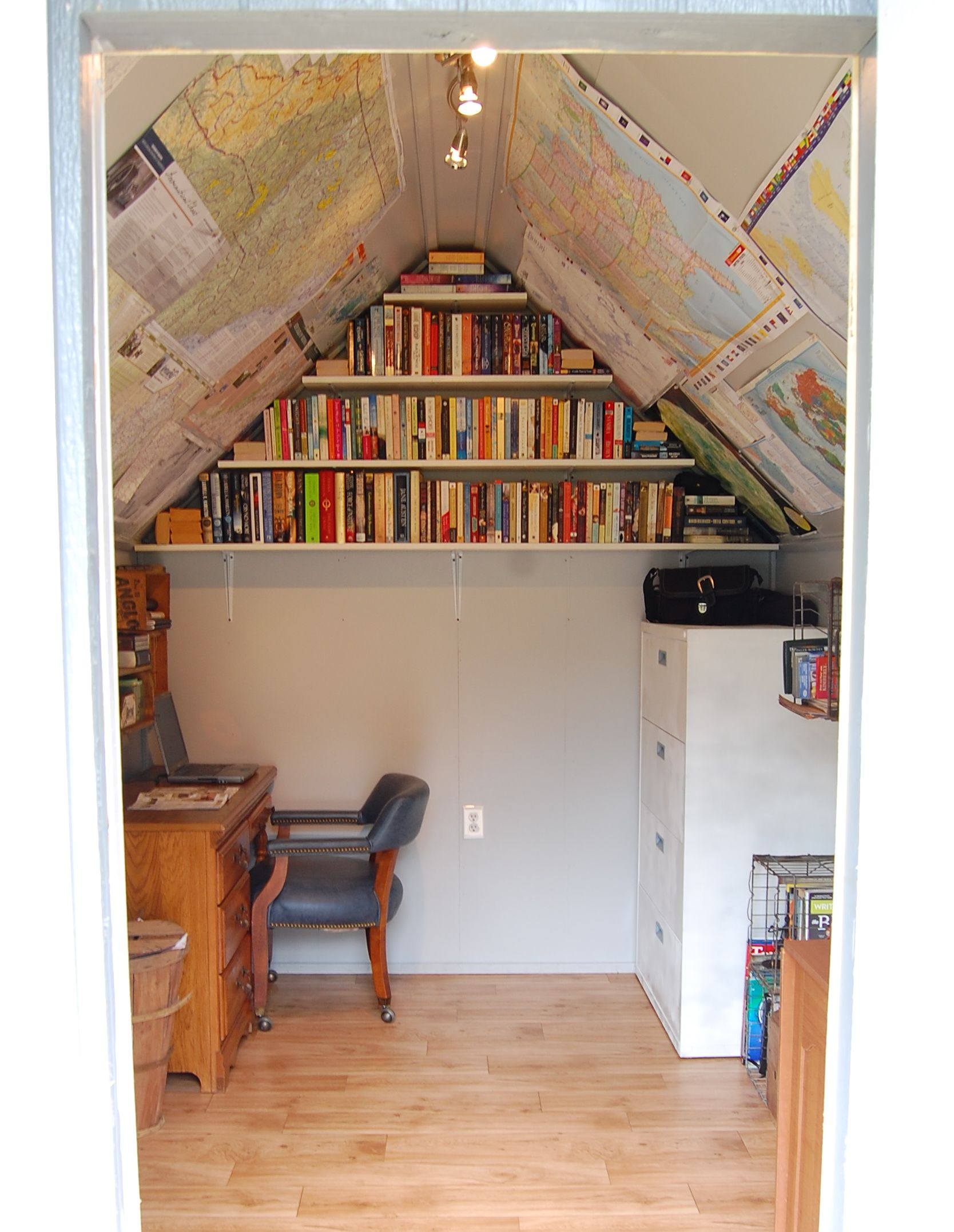 garden shed interior shelter general pinterest