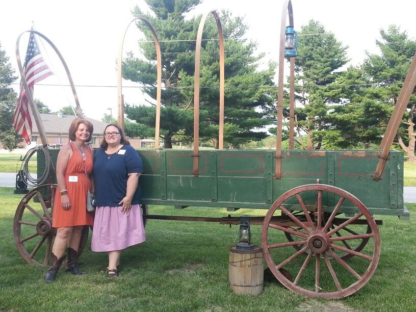 """The party planners :)   It's a """"Hay Day"""" Barn Raising ... Raising English"""