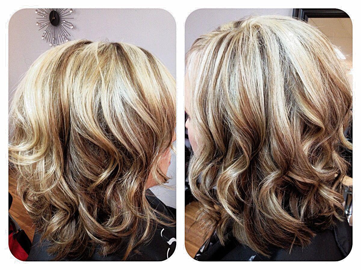 ... Vanilla Blonde blended with Mocha Brown Lowlights~ | Hair | Pinterest