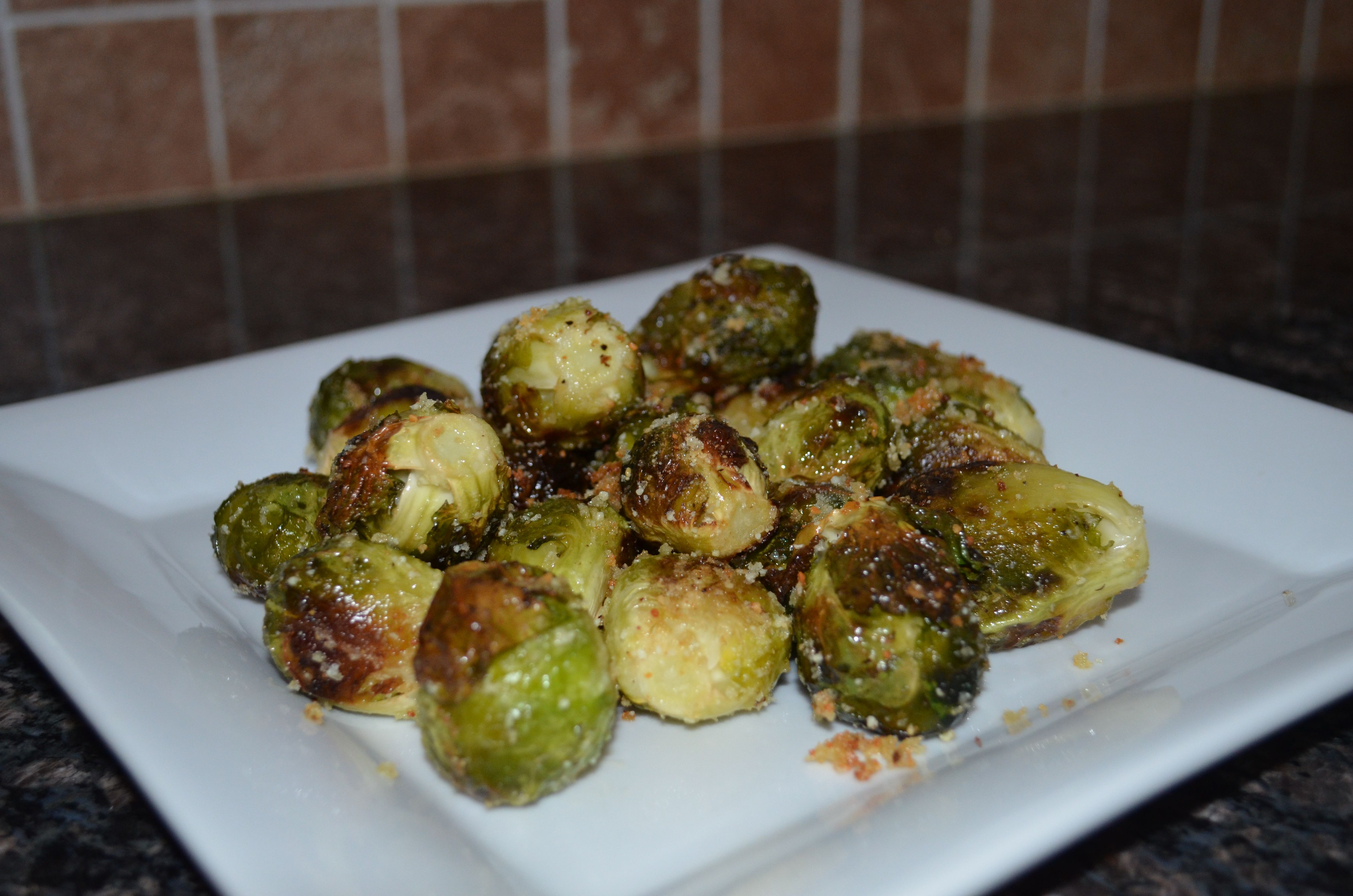 Brussels Sprouts With Smoked Bacon In A Mustard Cream ...