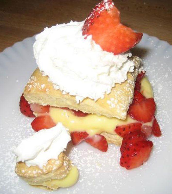 Best Ever Strawberry Napoleons   Valentines Sweets Recipes   Pinterest