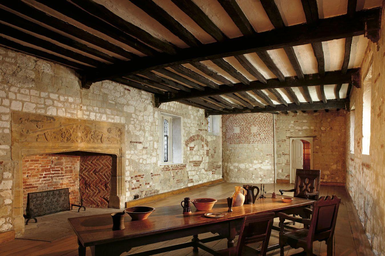The Tudor Kitchen Medieval Tudor House Interior