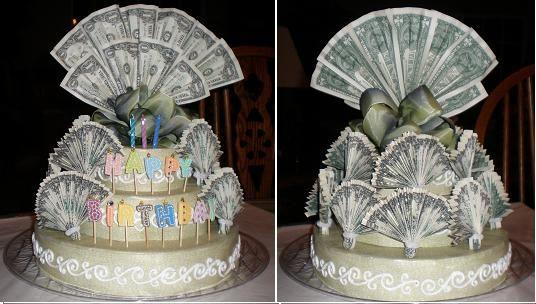 Денежный торт своими руками пошагово