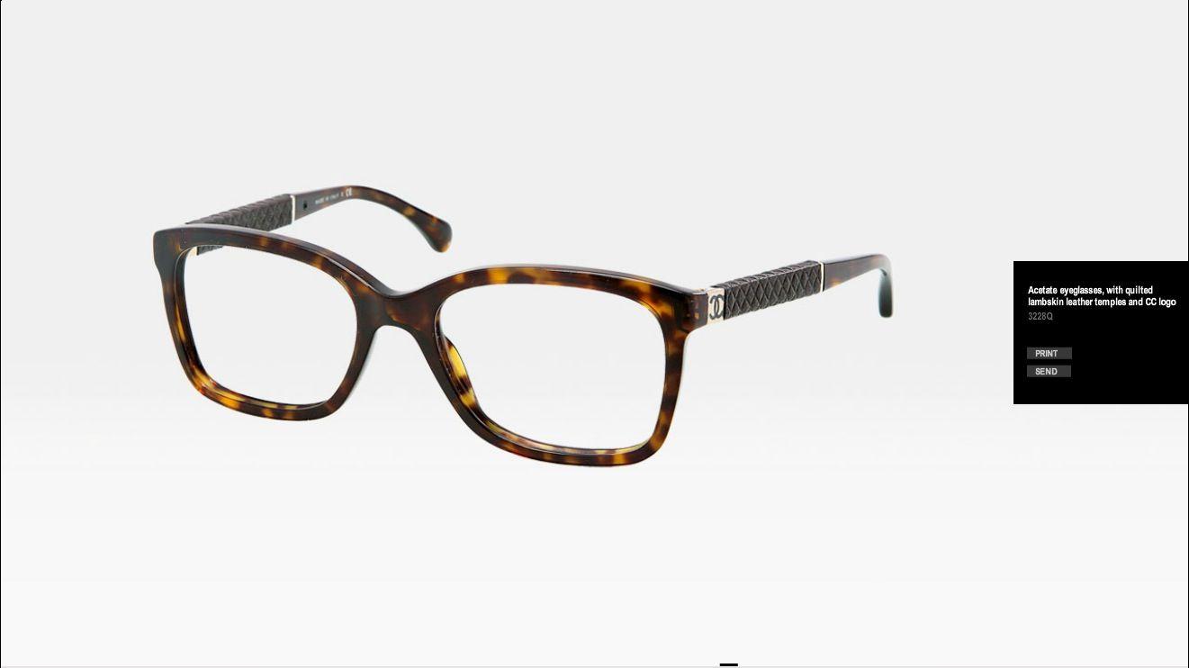 Chanel frames Chanel Glasses Pinterest