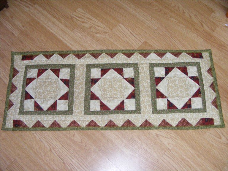 Pinterest Quilting Table Runners : table runner Quilting/Sewing Pinterest