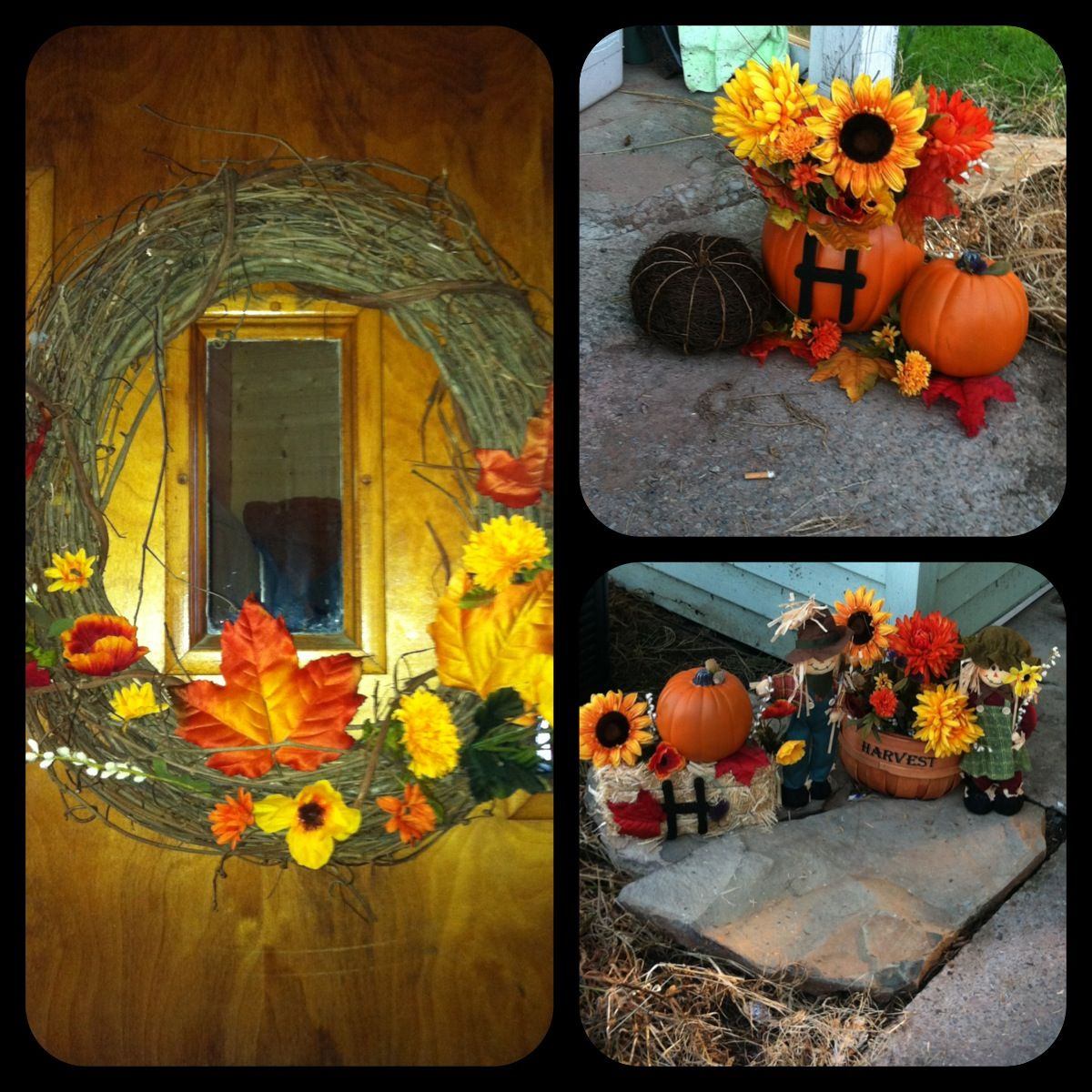 Fall decorations easy diy for the home pinterest for Fall home decor