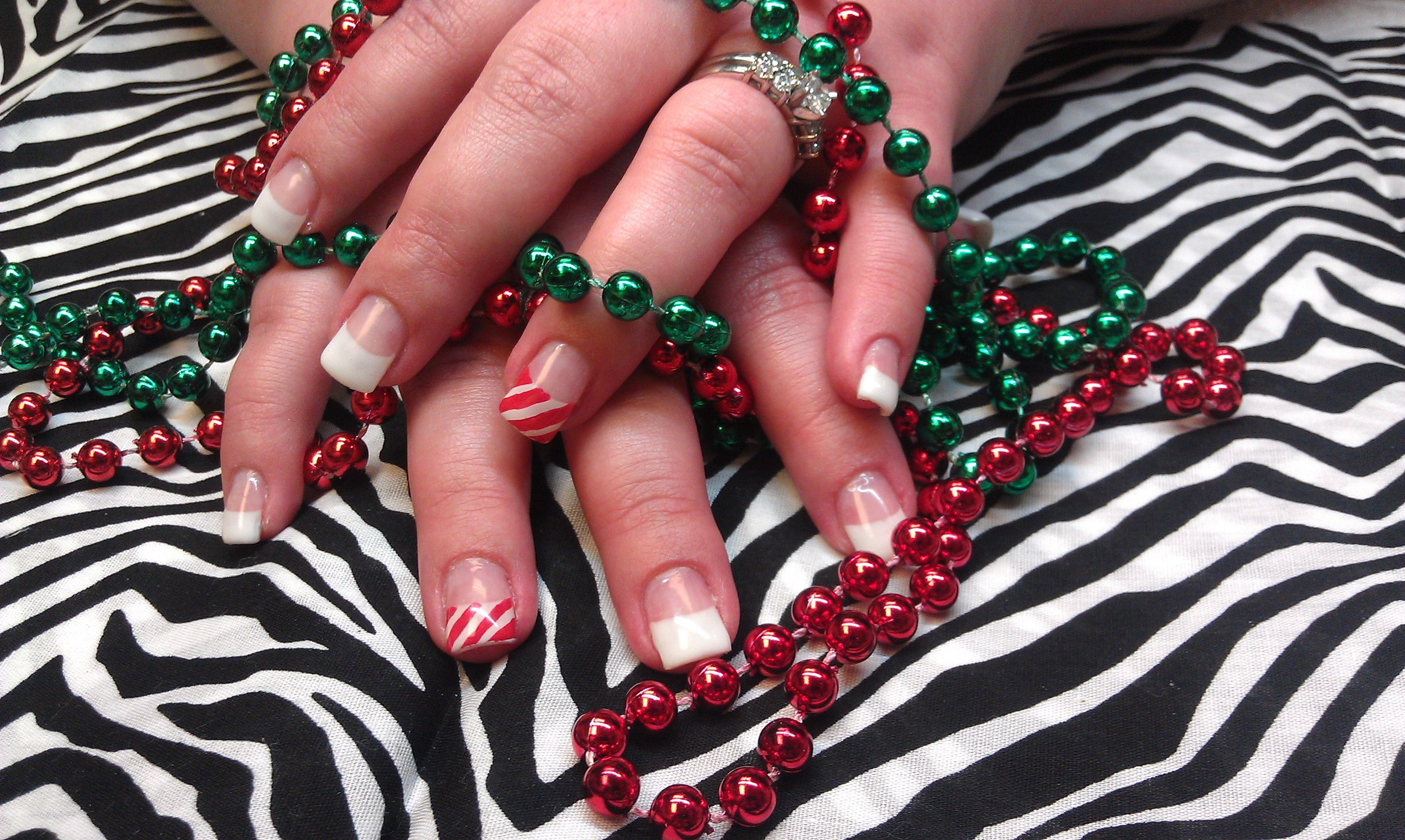 Candy Cane | My Nail Designs | Pinterest