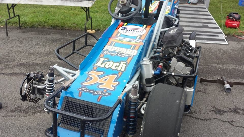 Midget car chassis strict