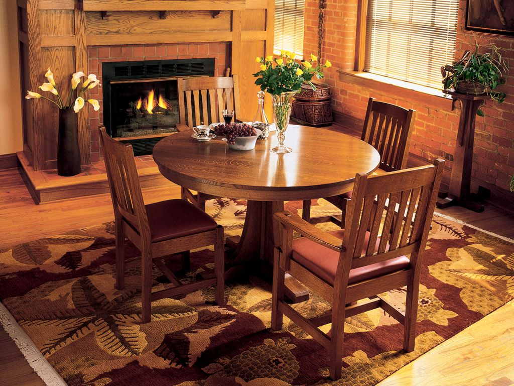 Mission Dining Room Craftsman Style Home Pinterest