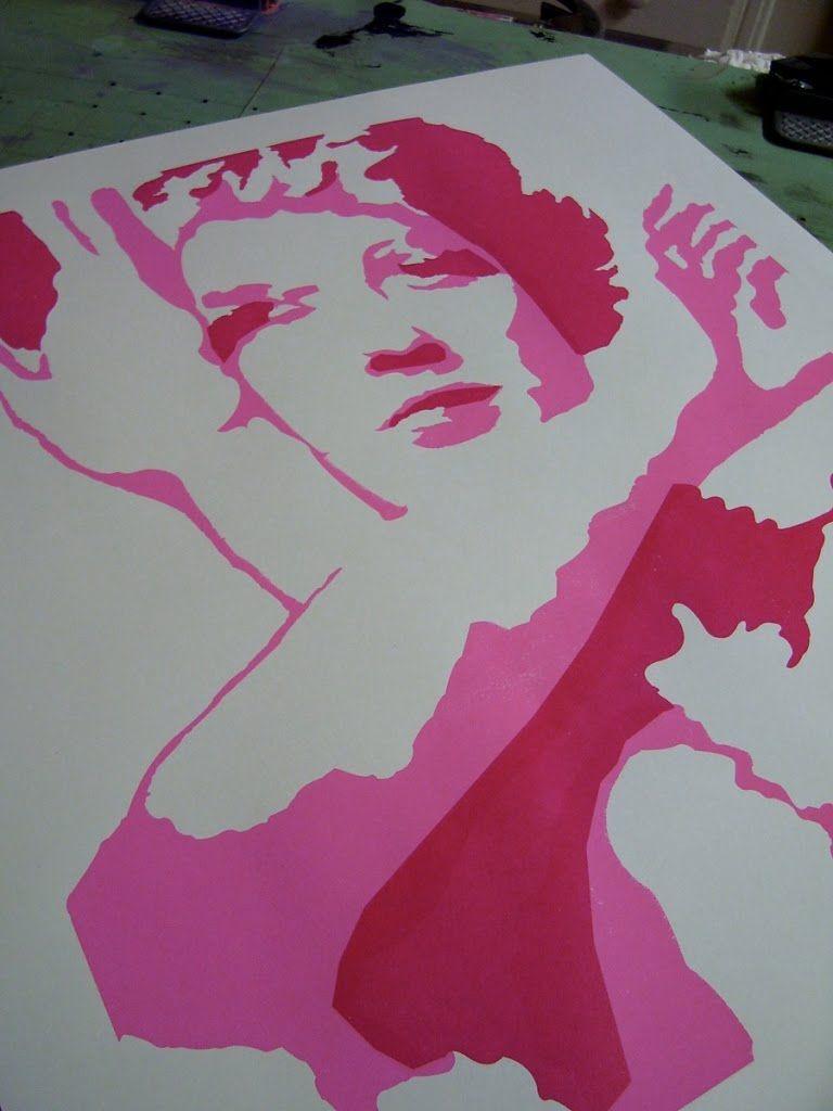 Silk Screen Print | Screen printing | Pinterest