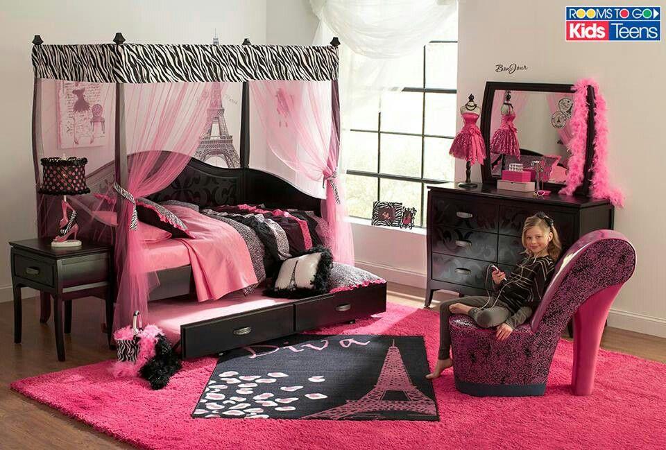 Hermoso cuarto de ni a cuarto ainhoa pinterest - Muebles para cuarto de nina ...