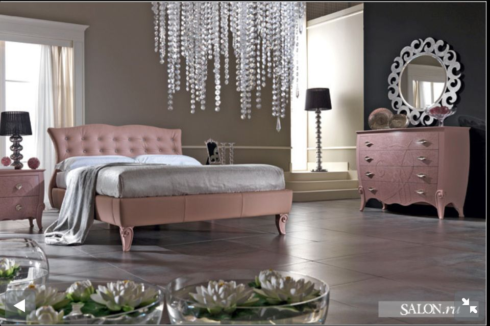 light pink master bedroom from for the home