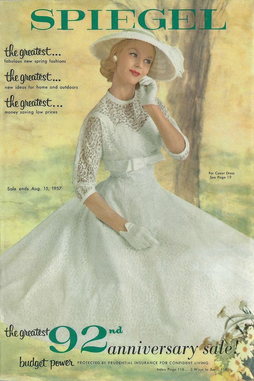 1957 spiegel catalog cover vintage fashion pinterest. Black Bedroom Furniture Sets. Home Design Ideas