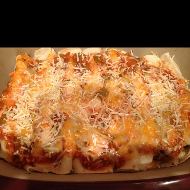 Turkey and black bean enchiladas! Yummy | Food | Pinterest