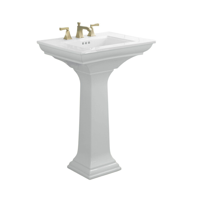 Kohler Memoirs Pedestal Sink : Kohler Memoir Pedestal Sink Madeline Pinterest