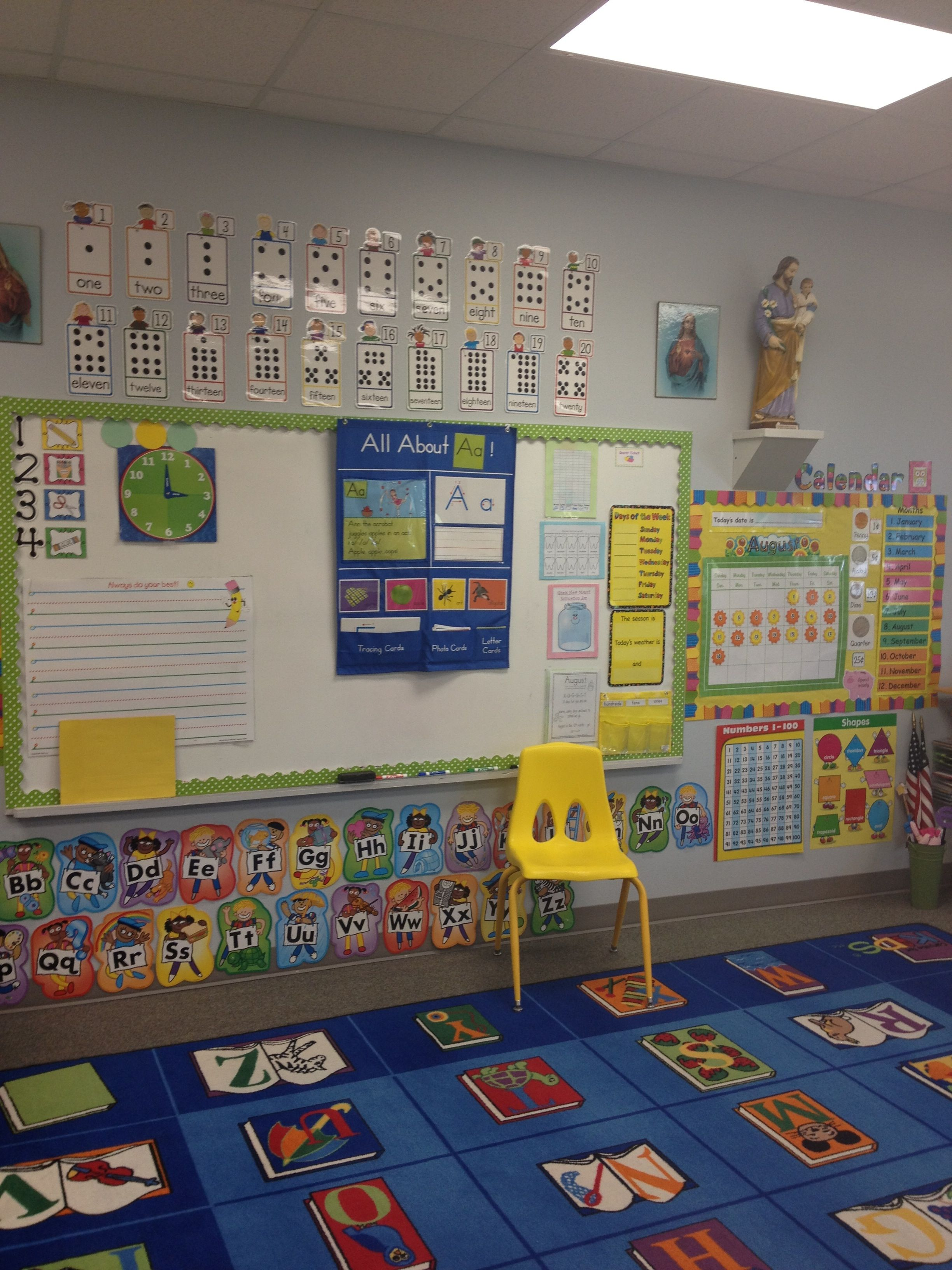 Classroom Decor For Preschool ~ Pinterest classroom decorating just b use