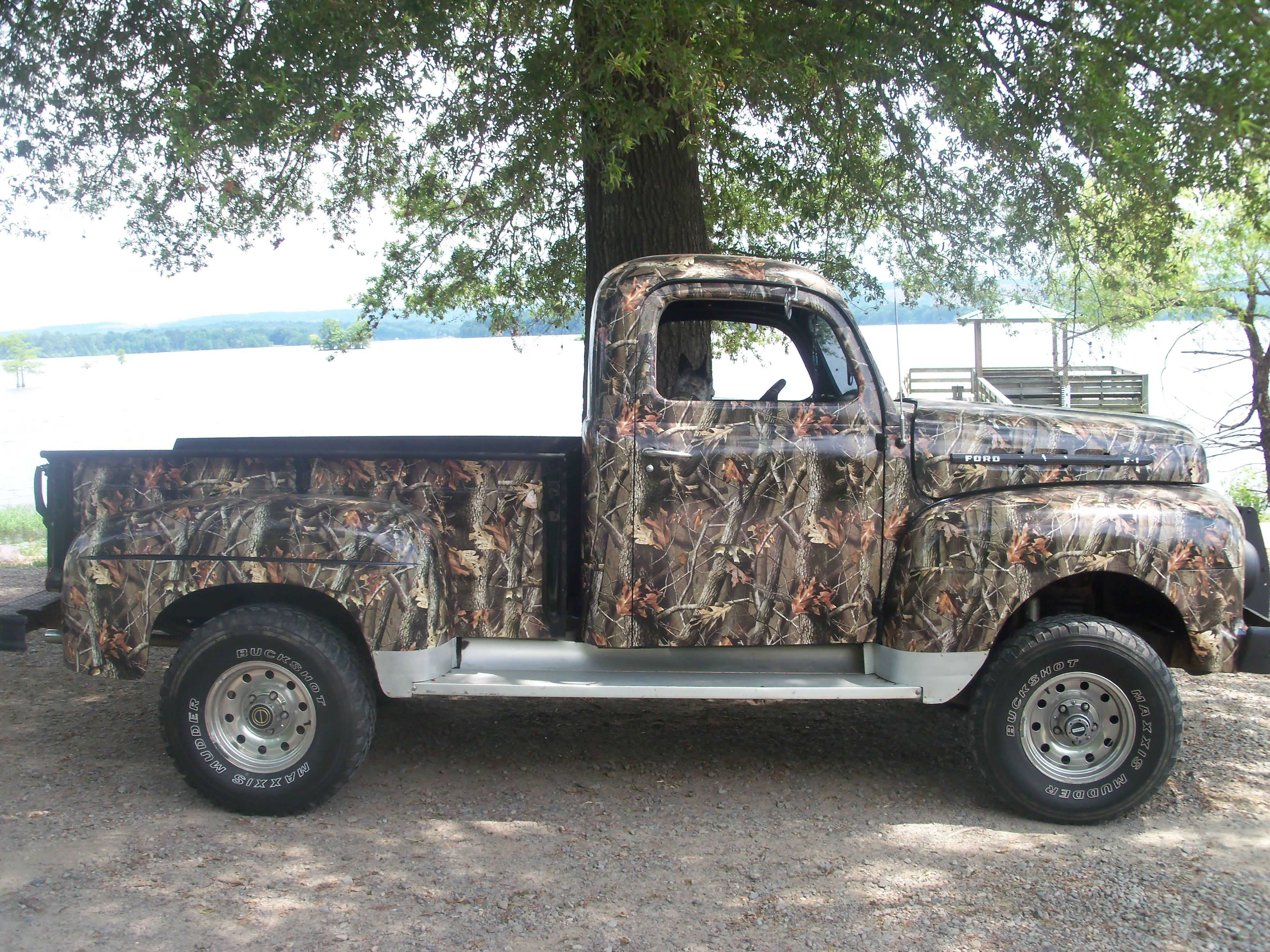 The Old F1 Ford Done In Realtree Hardwoods We Offer A