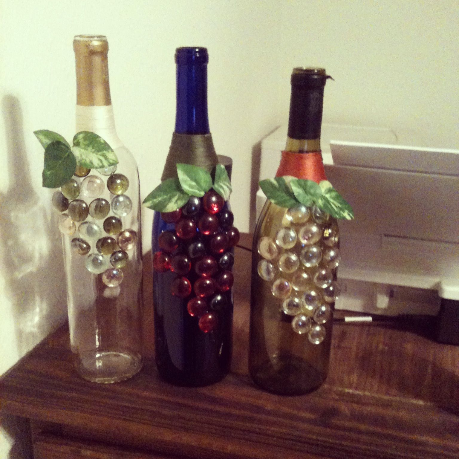 how to make wine bottle crafts