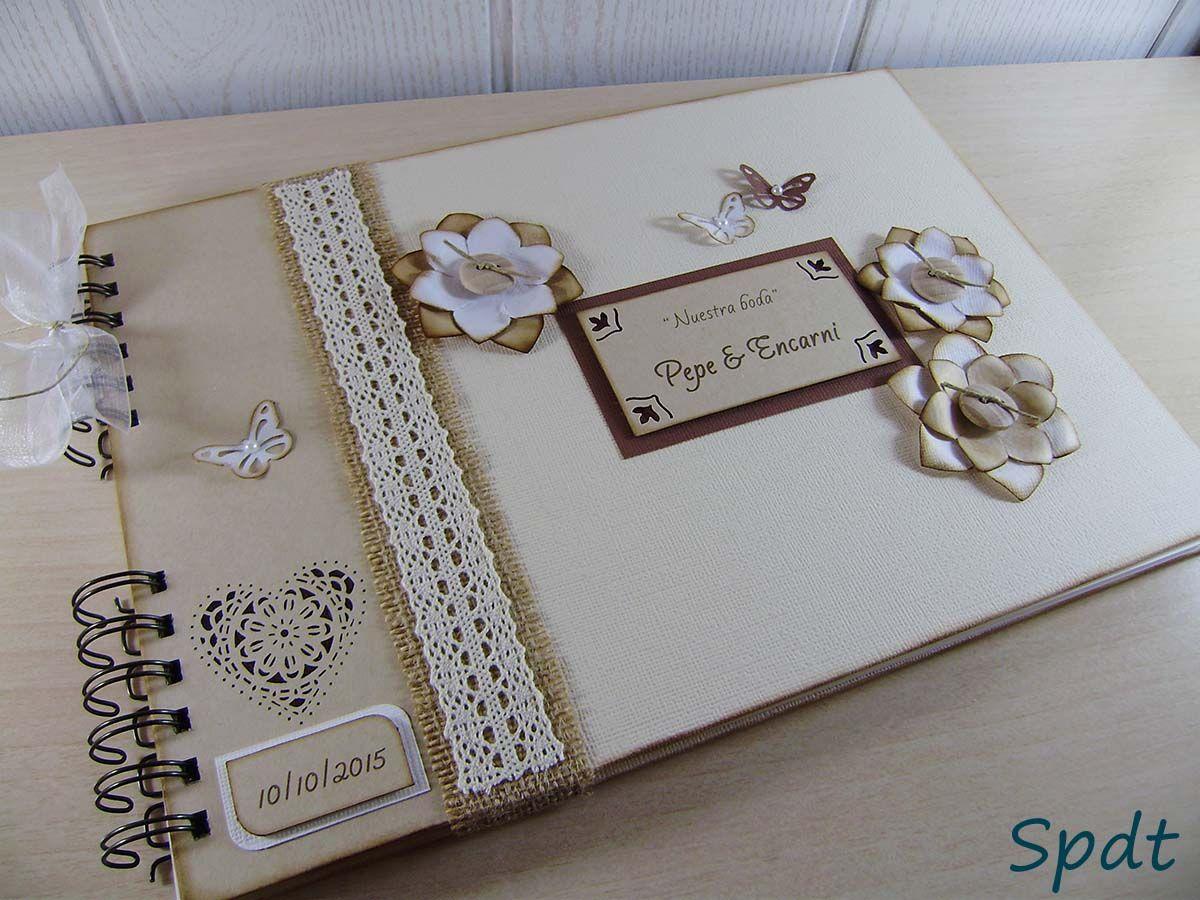 Album de firmas y fotos para boda 59