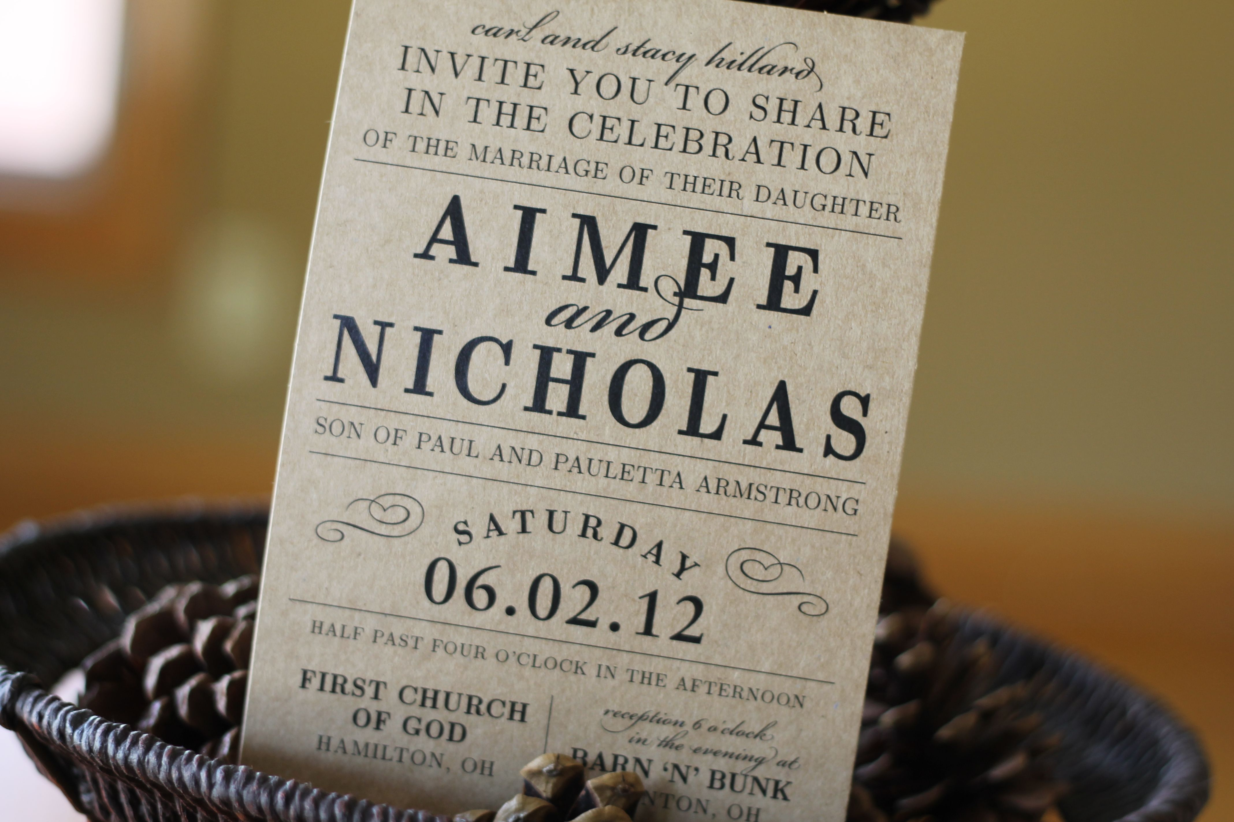 Country Chic Wedding Invitations and get inspiration to create nice invitation ideas