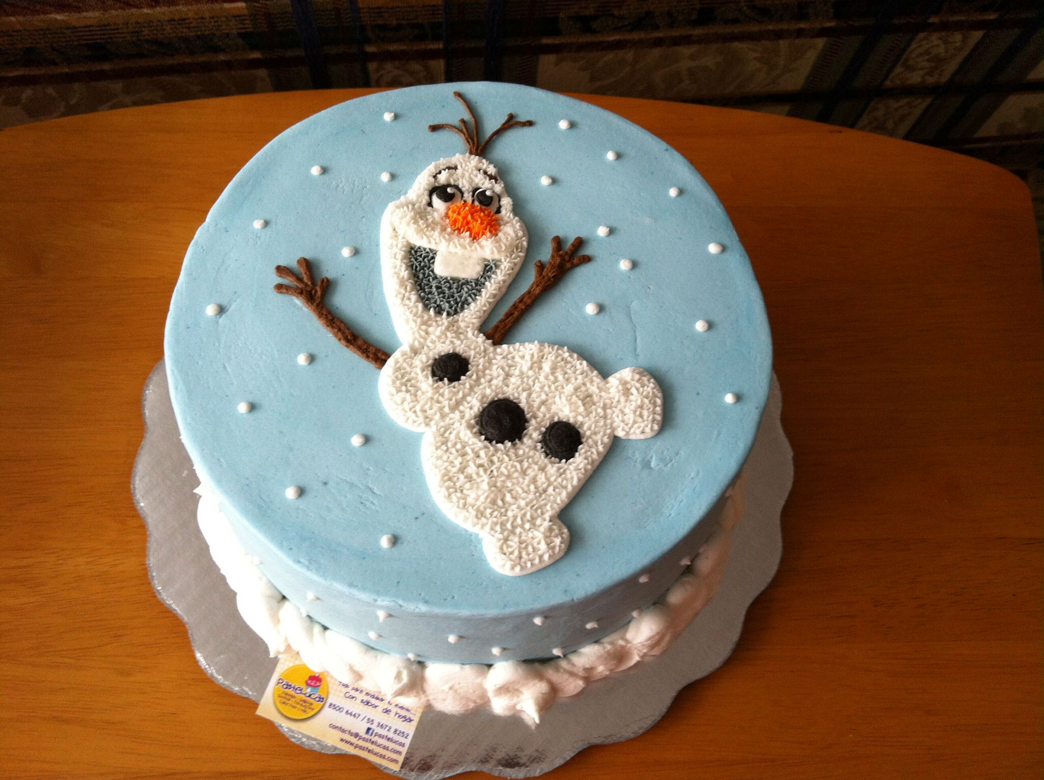 Cake Decoration Olaf : Olaf / Frozen cake Girl birthday cakes Pinterest