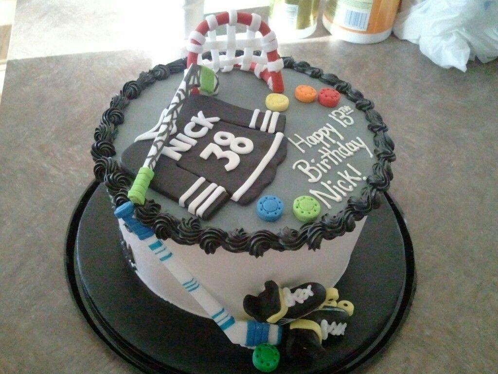hockey cake ideas