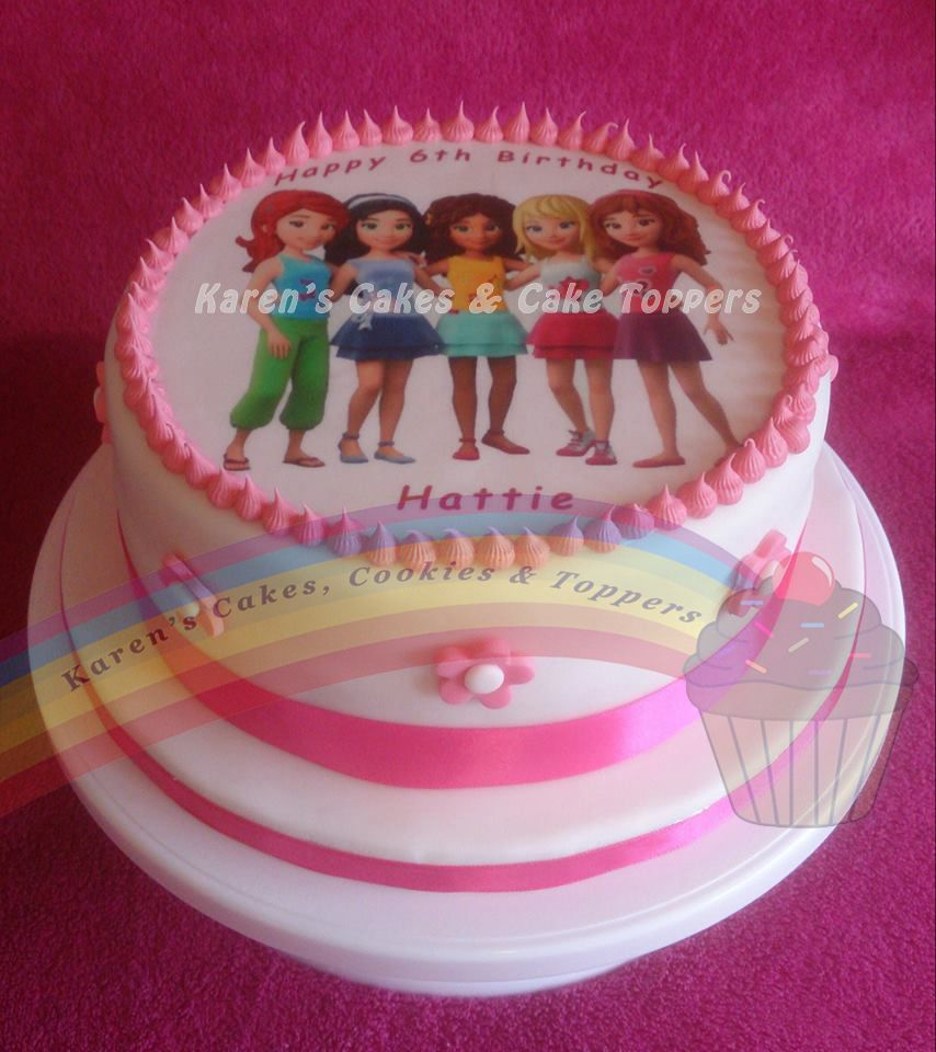 Birthday Cake Designs For Friends : Lego Friends Cake Welcome Pinterest