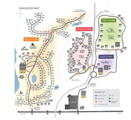 Orange Lake Resort Map Holiday Inn Club Vacations