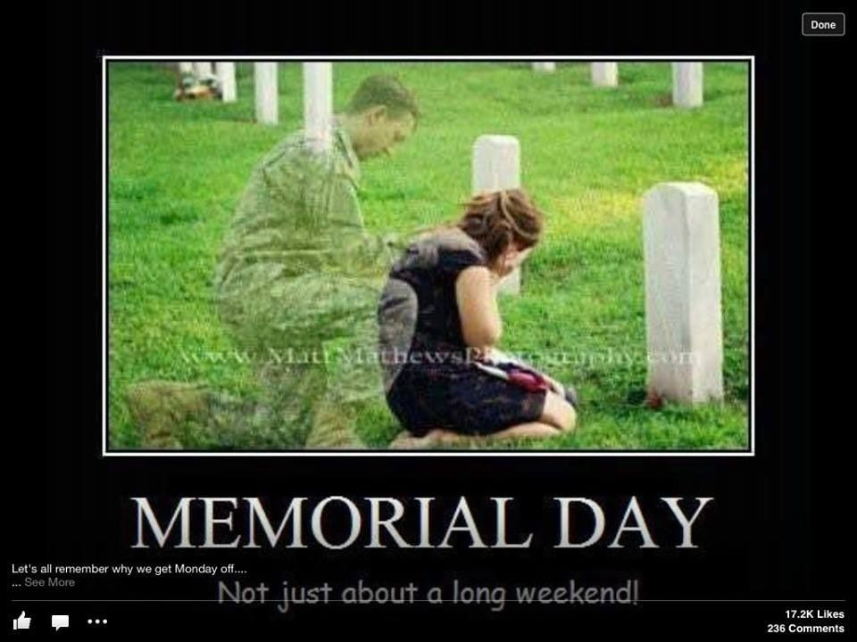 memorial day not just day off