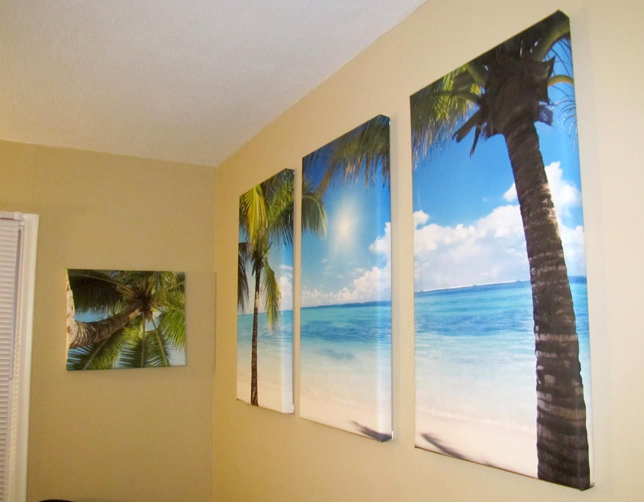 Diy canvas wall art canvas art ideas pinterest Diy canvas painting designs