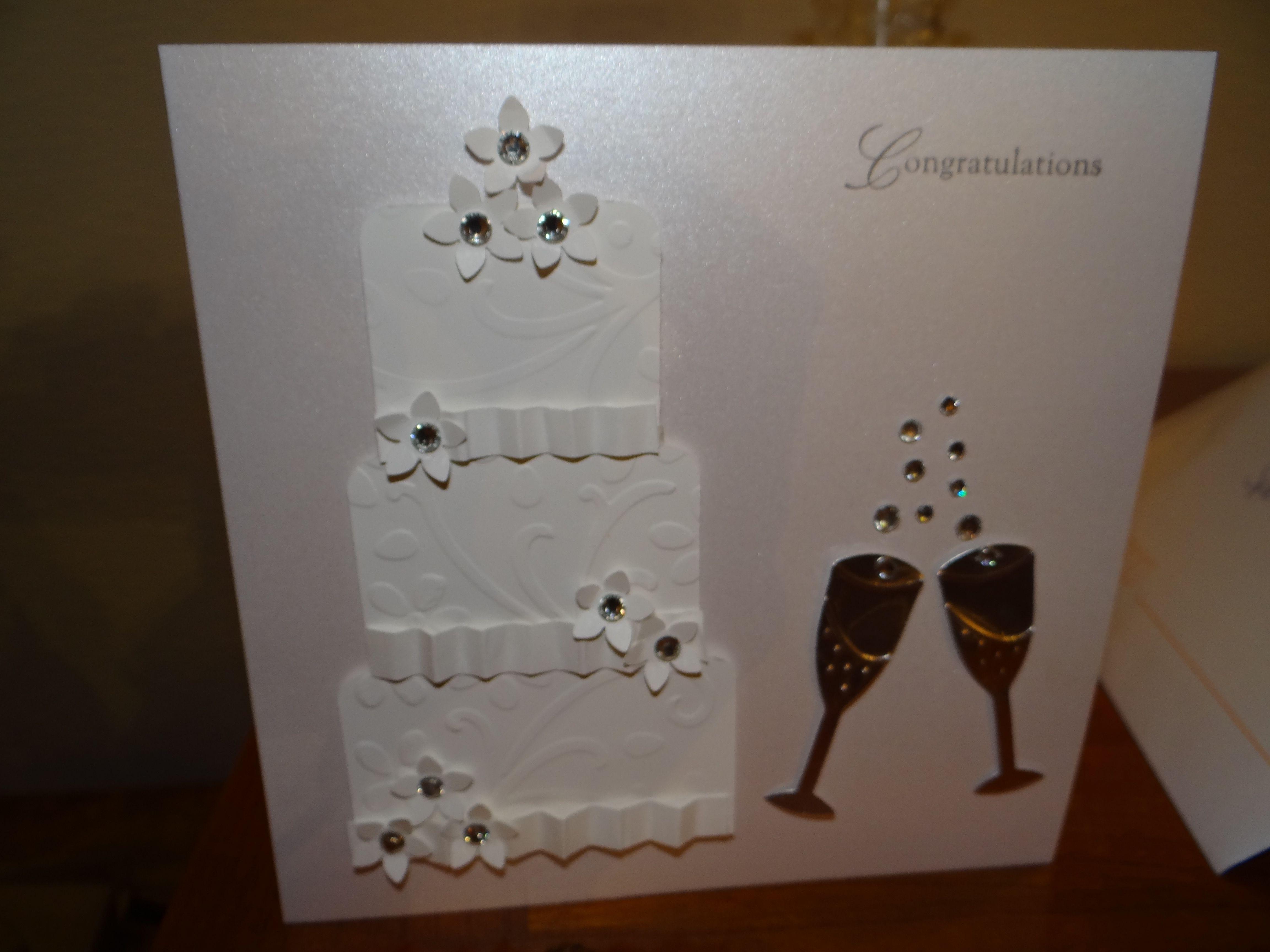 Stampin up card wedding anniversary baby