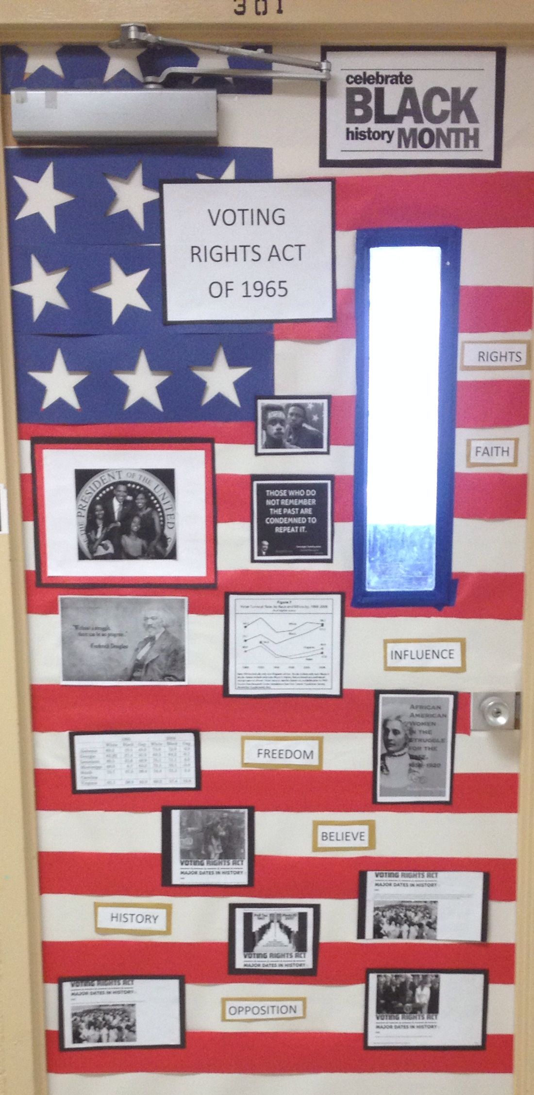 Cool History Classroom Decorations : Door decor for black history month wesley classroom