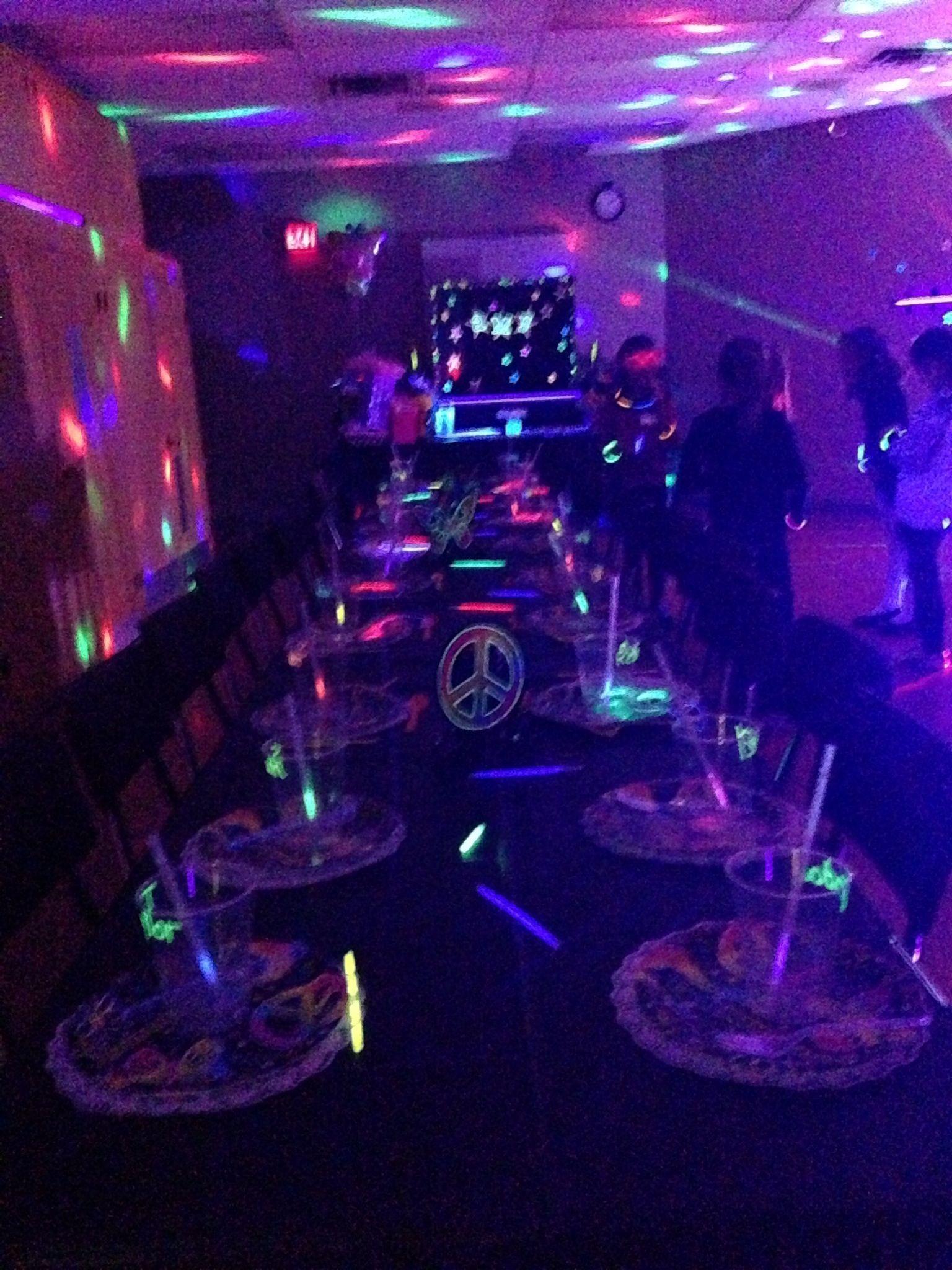 Glow In The Dark Party Glow Party Pinterest