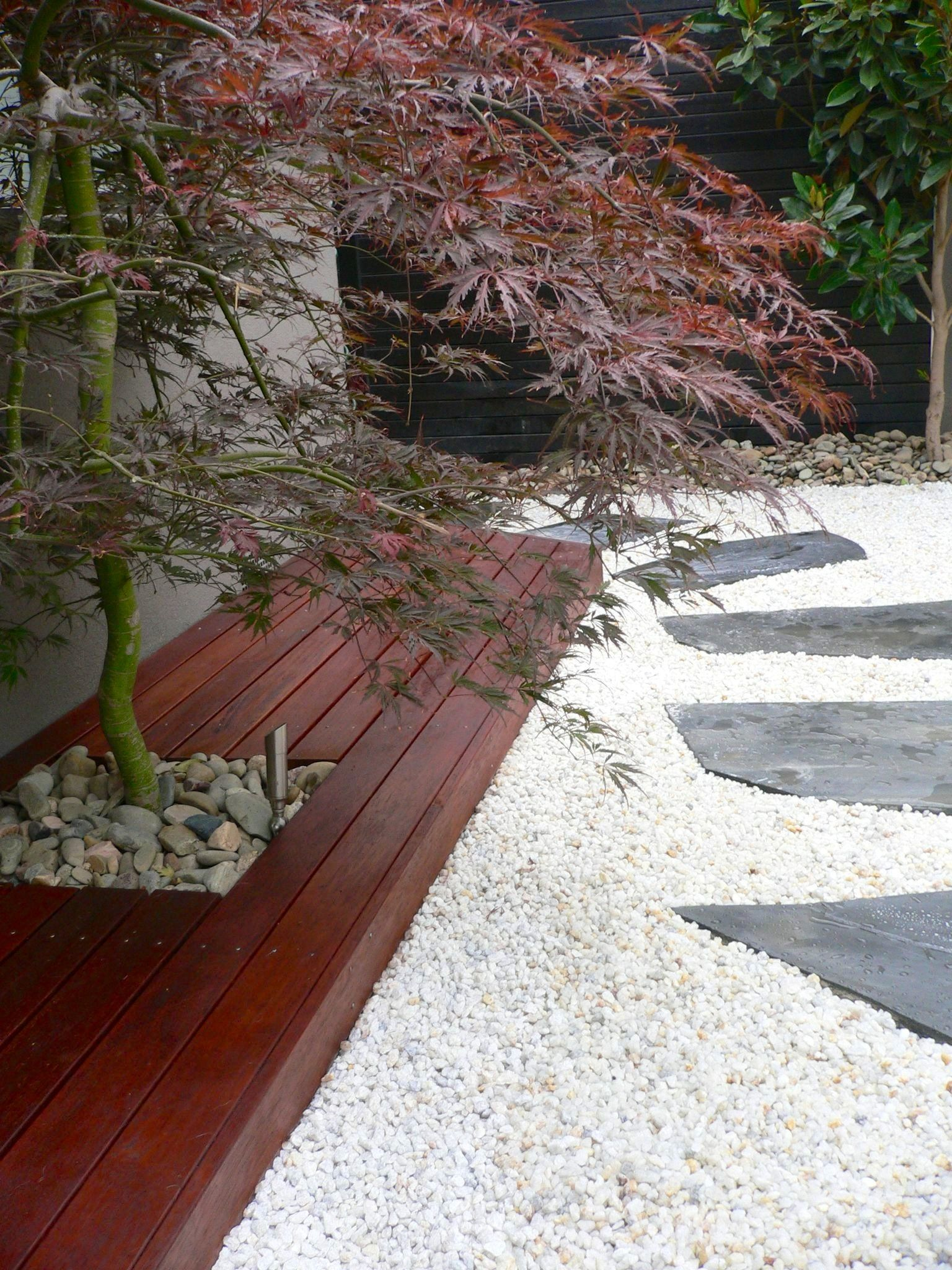 Japanese courtyard Garden Brighton Garden ideas Pinterest